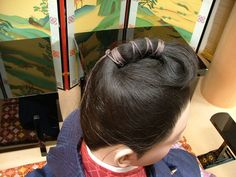 Heian man's hair