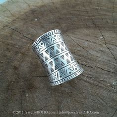 BOHO-Gypsy ring-Hippie ring-Bohemian ring-Statement ring R036 JewelryBOHO-Handmade sterling silver BOHO Tribal ring