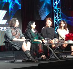 January 11, 2014 - Front row view at Outlander LA event