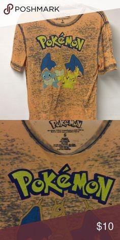 Pokemon t-shirt Very comfortable thin cotton Pokemon Shirts Tees - Short Sleeve