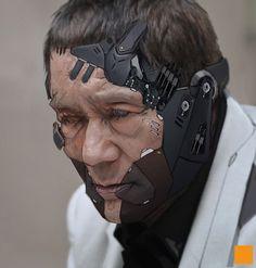 """Даррен """"fightpunch"""" Бартли, художник из Мали, известен своими цифровыми работами в области sci-fi дизайна, в частности, дизайна персонажей. Даррен освоил цифровое искусство самосто..."""