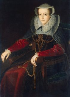 Mary Stuart, Queen of Scotland, cousin to Edward VI, Mary I, and Elizabeth I (Roman Catholic claimant to England's throne). Mary Queen Of Scots, Queen Mary, Baby Queen, Mary Stuart, Elizabeth I, Tudor History, British History, Historical Costume, Historical Clothing