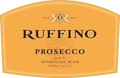 Ruffino Prosecco - with PIZZA!