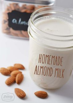 How To Make Your Own Almond Milk (and Almond Flour!)