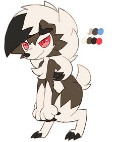 Lycanroc... but a different color palette you think would look good