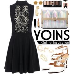 Yoins by oshint on Polyvore featuring MANGO, Miriam Haskell, Stella & Dot…