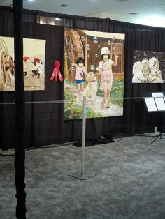 The 2014 International Quilt Festival (aka Houston) is finishing up this weekend. It is astronomically expensive t. International Quilt Festival, Textile Art, Houston, Creativity, Quilting, Textiles, Portraits, Contemporary, Sewing
