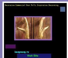 Decorative Commercial Door Pulls