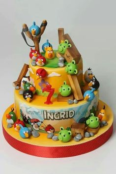 Angry Birds...Love it