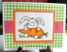 Easter card, Some bunny loves you, Easter bunny on Etsy, $4.00