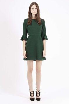 Robe d'hiver verte