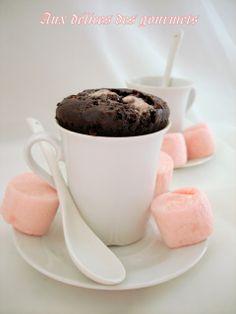 Muffins chocolatés aux chamallows