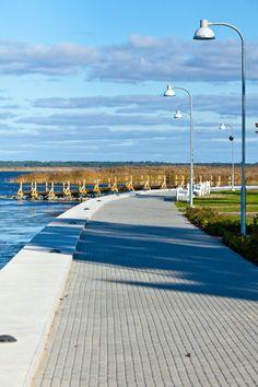 Promenade in Haapsalu, Estonia
