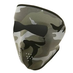Neoprene Biker face masks from Iron Horse Motorcycle Helmets Neoprene Face Mask, Full Face Mask, Face Masks, Camping Outfits, Kids House, Cold Weather, Camouflage, Helmet, Urban