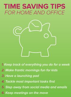 These time saving tips work both at home and the office. They will help you get the kids out the door and on their way to school in the morning faster. Time Saving, Saving Tips, Morning Routines, Budgeting Money, Busy Life, Enough Is Enough, Getting Organized, Helpful Tips, Parenting Hacks