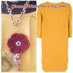 Crochet Necklace, Facebook, Personalized Items, Jewelry, Fashion, Knots, Moda, Jewlery, Jewerly