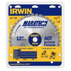 """Irwin Marathon 14082 12"""" Marathon Miter & Table Saw Blades"""