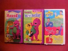 Lot Of 4 The Wiggles Pc Video Game Cd Rom Preowned Wiggly