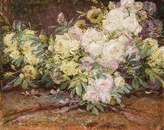 Un bouquet de fleurs von Constant Montald