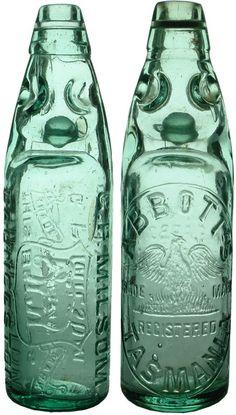 Auction 27 Preview   97   Milsom Abbott's Launceston Codd Marble Bottles