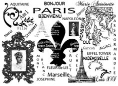 Free French printable by Cher@Tapestry's Imaginings: February 2012