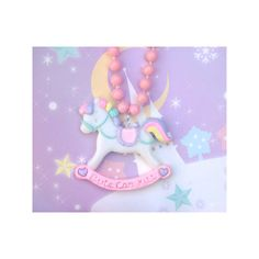 // Cute Can Kill \\ Fairy handmade jewelry & graphic design by really... ❤ liked on Polyvore featuring necklaces, animals and jewelry