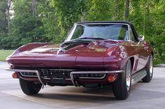 "prova275: "" Marlboro Maroon… 1967 427/435 TriPower C2 roadster """