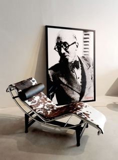 LC4 Chaise Longue door Le Corbusier - Roomed