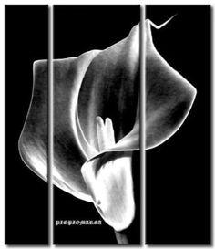 tripticos y cuadros en blanco y negro | Aprender manualidades es facilisimo.com