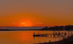 Orange sky by Joe Matzerath on 500px