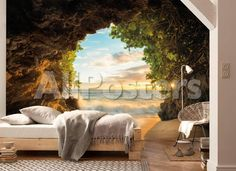 Hide Out Wallpaper Mural - AllPosters.co.uk