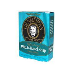Grandpa's Witch Hazel Soap - 3.25 oz