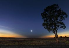 Totality. Solar eclipse from Queensland, Australia. (Geoff Sims/ TWAN 2013 Earth & Sky Photo Contest)