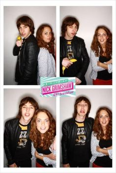 @R1Breakfast: Here's brother and sister combo Van McCann from @thebottlemen and Fiona from our show.