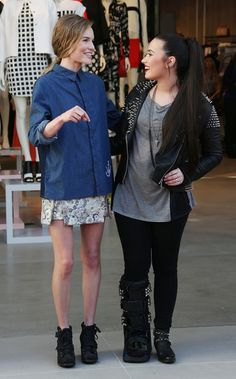 Kate Bosworth and Demi attend the Topshop Topman LA Opening.