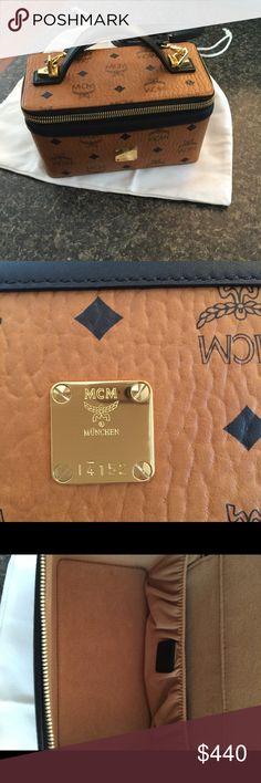 AUTHENTIC MCM TRAIN MCM Train w/strap MCM Bags Travel Bags