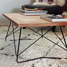 See how easy it is to make a mid century coffee table! (via Almost Makes Perfect)
