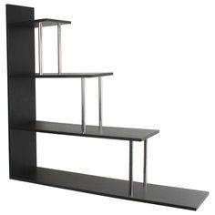 Asten Shelf in Black Home Living, Wooden Shelves, Bookshelves, Stylish, Modern, Inspiration, Furniture, Color, Black