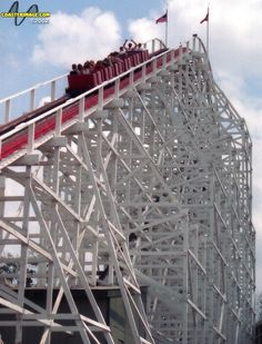 Raging Wolf Bobs at Geauga Lake & Wildwater Kingdom in Aurora, Ohio