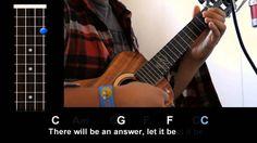 Uke Lesson 62 - Let It Be (The Beatles) - Ukulele Underground Ukulele Tabs, Ukulele Chords, Ukulele Fingerpicking, Ukulele Accessories, Bucket Drumming, Music Tabs, Tears In Heaven, Ukulele Songs, Guitar Lessons