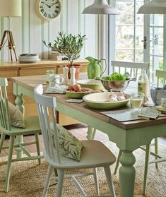 Find sophisticated detail in every Laura Ashley collection - home furnishings, children's room decor, and women, girls & men's fashion. Home Interior Design, Interior Decorating, Decorating Ideas, Interior Paint, Country Kitchen, Country Homes, Home Collections, Country Decor, Top Country