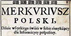 KultWarszawa: Merkuriusz Polski Ordynacyjny