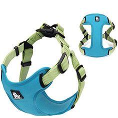 Padded Reflective Dog Harness Vest Pet Safety Nylon Dog Training Vest Adjustable For Small Medium Dog S M L Dog Training Vest, Protective Dogs, Nylons, Cat Cages, Dog Steps, Pet Dogs, Pets, Dog Branding, Dog Vest