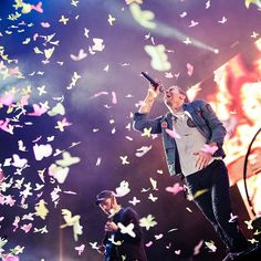 Beautiful shot of #Coldplay from @shootthesoundphotos! #Music #RWInstaMusic #Contest #RWInstaMusicChallenge #Photography