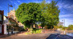 A Photo of Carshalton Village Carshalton Surrey England Sutton England, London Boroughs, Croydon, Surrey, Nostalgia, Street View, Europe, Places, Memories