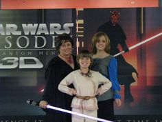 Padme, Anakin and a Sith!