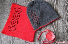 Опрос. Вязание двойной двухсторонней шапочки онлайн