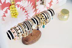DIY bracelet organizer/display