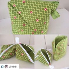 Did you know you can make two Sweetpea Pods from Bendy Bag leftovers? They are already cut to size and ready to go. Just add the zip! Hobo Bag Patterns, Tote Pattern, Small Zipper Pouch, Zipper Bags, Diy Fabric Purses, Diy Messenger Bag, Diy Coin Purse, Lazy Girl Designs, Sewing Projects For Kids