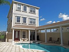 5 Bed / 5 Bath vacation home in Reunion Resort near Walt Disney World Resort. I stayed in this AWESOME home with my family a few months ago. The perfect experience - right on the golf course!